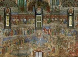 Сооружение Успенского собора Троице-Сергиевой Лавры
