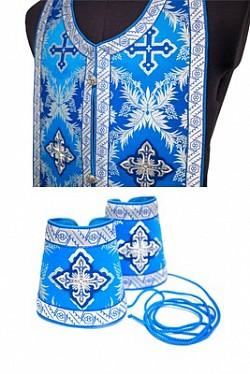 Золотошвейная мастерская Троице-Сергиевой Лавры приглашает на мастер-класс по пошиву требного комплекта