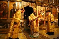 Троице-Сергиеву Лавру посетили митрополит Георгий и члены совета ректоров ВУЗов Нижегородской области
