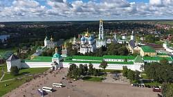 Сергиеву Посаду вручено официальное свидетельство участника «Золотого кольца России»