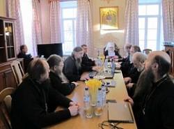 В Свято-Троицкой Сергиевой Лавре состоялось очередное пленарное заседание Синодальной богослужебной комиссии