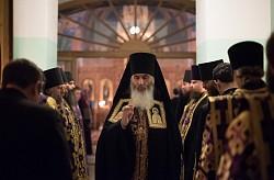 В семинарском храме Преподобного Иоанна Лествичника состоялся престольный праздник