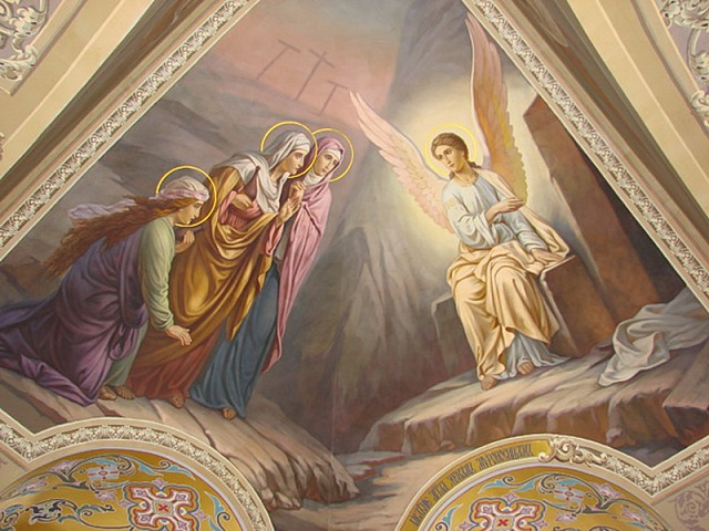 Проповедь насельника Троице-Сергиевой Лавры иеромонаха Гурия (Гусева) в 3-ю Неделю по Пасхе, святых жен-мироносиц
