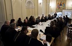 В Троице-Сергиевой Лавре проходят Курсы повышения квалификации для клириков и насельников обители
