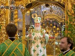 Патриарх Кирилл возглавит престольный праздник в Свято-Троицкой Сергиевой Лавре