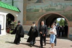 Троице-Сергиеву Лавру посетил Президент Республики Панама Хуан Карлос Варела