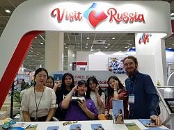 Выставочный стенд Visit Russia стал лучшим на выставке KOTFA – 2018 в Республике Корея