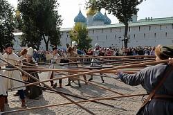 В День района на Красногорской площади прошел исторический фестиваль к 400-летию Деулинского перемирия