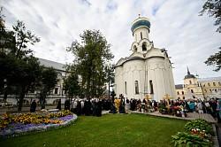 В Троице-Сергиевой Лавре молитвенно почтили память архимандрита Матфея (Мормыля)
