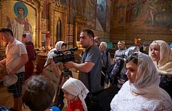 В Троице-Сергиевой Лавре прошли съемки телепередачи «Доброе утро» Первого канала