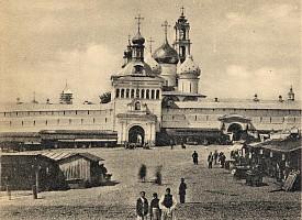 Посещение Троицкой Лавры и Академии митрополитом Московским и Коломенским Сергием