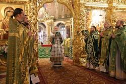 Архиепископ Феогност возглавил в Иосифо-Волоцком монастыре празднование в честь обретения мощей основателя обители