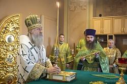 Архиепископ Феогност возглавил в Зосимовой пустыни празднование 185-летия со дня преставления основателя обители