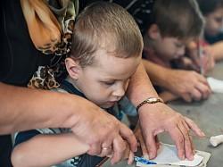 Дети из центра «Оптимист» посетили мастер-класс в Русском дворце интересов