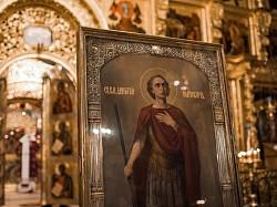 В день памяти великомученика Димитрия Солунского в Троице-Сергиевой лавре прошли праздничные богослужения