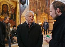 Троице-Сергиеву Лавру посетил главный ученый секретарь Президиума РАХ заслуженный архитектор России О.А. Кошкин