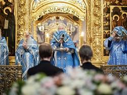 Лавра молитвенно почтила праздник Введения во храм Пресвятой Богородицы