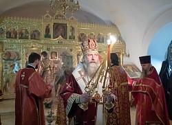 Архиепископ Феогност возглавил в Зачатьевском монастыре празднование дня памяти великомученицы Варвары