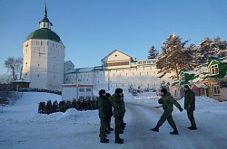 Курсанты Центра «Пересвет» продолжают подготовку к зимнему походу