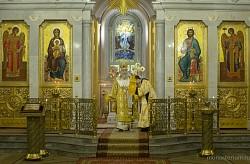 Архиепископ Феогност совершил Литургию в Иоанно-Предтеченском монастыре