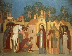 Участие преподобного отца нашего Сергия в событиях 1380 года, положивших  начало освобождению России от татарского ига