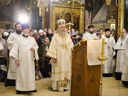 В преддверии Рождества Христова архиепископ Феогност совершил чинопоследование Царских Часов