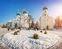 Службы навечерия Рождества Христова прошли в Троице-Сергиевой лавре