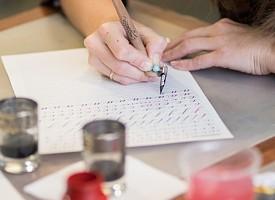 В РДИ начались занятия по каллиграфии