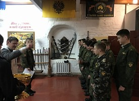 Курсанты Центра «Пересвет» встретили праздник Богоявления