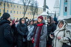 Победители международного детского конкурса посетили Троице-Сергиеву лавру и Московскую духовную академию