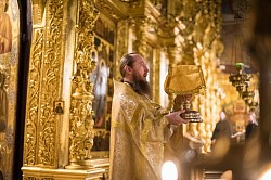 В Лавре молитвенно почтили память святой Ксении Петербургской