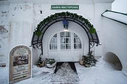 Магазин «Выставка-ярмарка мастерских Лавры» дарит паломникам память об обители преподобного Сергия