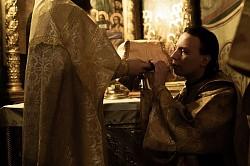 В день памяти первого и второго обретения главы Крестителя Господня Иоанна в Лавре прошли торжественные богослужения