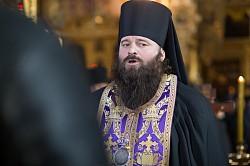 Во второй день Великого поста епископ Парамон совершил уставные богослужения в Успенском соборе (ВИДЕО)