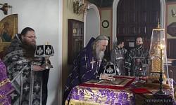 Архиепископ Феогност представил нового настоятеля Московского подворья Троице-Сергиевой Лавры