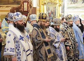 Епископ Парамон принял в Корецком монастыре участие в праздновании иконе Богоматери «Споручница грешных»