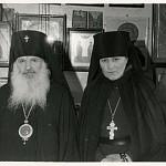 Фото в день иерейской хиротонии с архиеп. Сергием (Голубцовым), 25 марта 1973 года