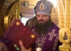 В престольный праздник храма Сорока мучеников Севастийских епископ Парамон совершил Литургию