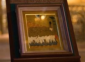 Братия Лавры молилась на Литургии Преждеосвященных Даров в день памяти 40 Севастийских мучеников