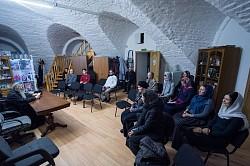 Прошла  встреча архимандрита Захарии (Шкурихина) с волонтерами