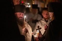 Епископ Парамон совершил монашеский постриг братьев обители преподобного Сергия