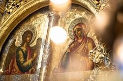 «Радуйся, Благодатная, Господь с тобою!»: Лавра чествует праздник Благовещения Пресвятой Богородицы