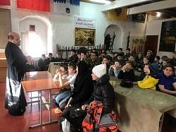 Центр «Пересвет» принимал гостей из воскресной школы при Покровском Хотькове монастыре