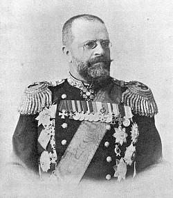 Командир Тихоокеанской эскадры адмирал Н.И. Скрыдлов посетил Троице-Сергиеву Лавру
