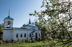 Епископ Сергиево-Посадский Парамон совершил Литургию в Покровском скиту в селе Сабурово