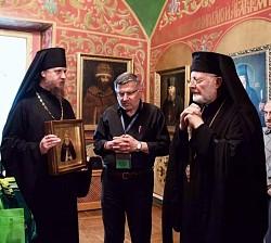 Свято-Троицкую Сергиеву Лавру посетила делегация Антиохийской архиепископии Северной Америки (ВИДЕО)