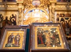 В день тезоименитства Святейшего Патриарха Московского и всея Руси Кирилла Лавра молилась равноапостольным Мефодию и Кириллу