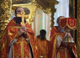 В Лавре почтили память преподобного Дионисия Радонежского