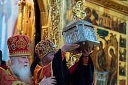 В день памяти святителя Исаии Ростовского в Лавре прошли торжественные богослужения