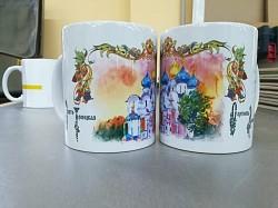 В магазинах Лавры появилась новая керамика с рисунками студента МДА